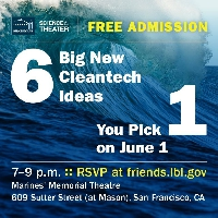 Berkeley Lab Cleantech Pitchfest graphic