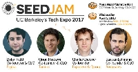 SEEDJAM Tech Expo 2017
