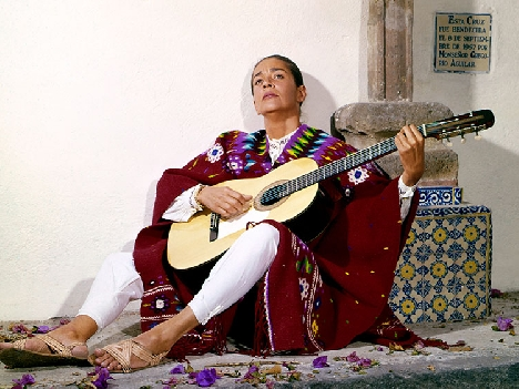 Chavela Vargas. (Photo © Ysunza/Courtesy of Music Box Films.)