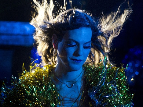 "Daniela Vega in ""A Fantastic Woman."" (Image courtesy of Sony Pictures Classic.)"
