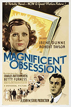 Film poster for Magnificent Obsession