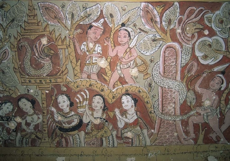 presence and memory commemorating the buddha in late burmese wall paintings
