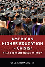 Book Jacket for American Higher Ed in Crisis