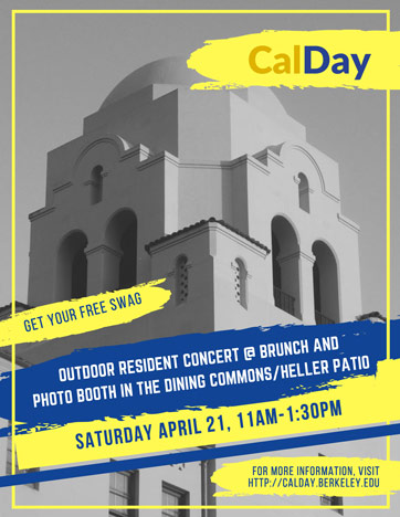 Cal Day At I-House 2018