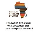 CAS Fellowship Info Session