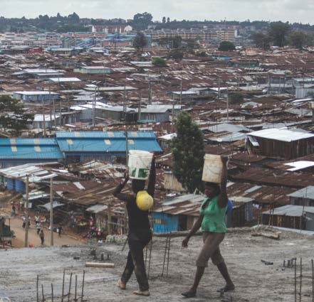 Urban Informal Settlement in East Africa