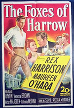 Film poster for Foxes of Harrow