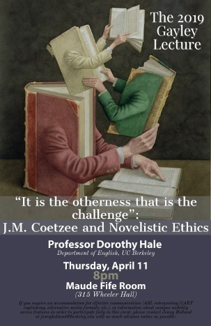 Dorothy Hale Gayley Lecture