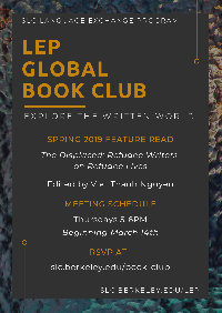 LEP Global Book Club Spring 2019