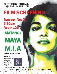 M.I.A Poster