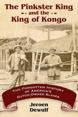 Book Cover, The Pinkster King and the King of Kongo