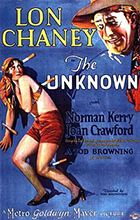 Film poster for The Unknown