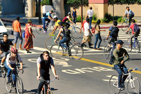 Biking and walking in Berkeley