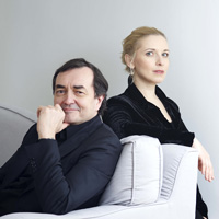 Pierre-Laurent Aimard and Tamara Stefanovich