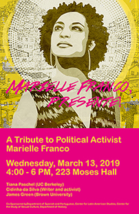 Marielle Franco poster