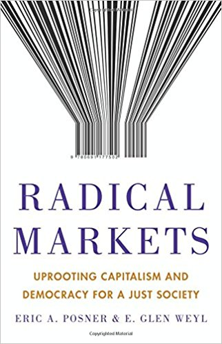 Radical Markets Book Cover