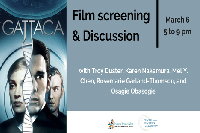 Gattaca Screening Event March 6th in Berkeley