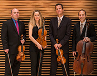 St. Lawrence string quartet musicians