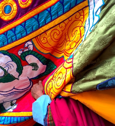 Shinghar large Thangka
