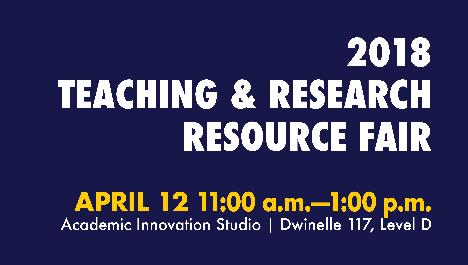 2018 Teaching and Research Resource Fair, Berkeley