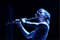 Claire Chase Flutist Claire Chase performs Saturday, December 2, 2017 in the Berkeley Art Museum and Pacific Film Archive.